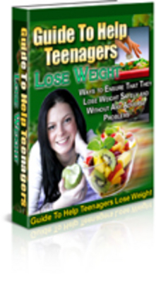 Product picture Teen Weight Loss PLR Package