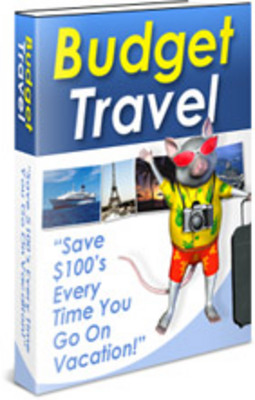 Product picture Budget Travel PLR Package