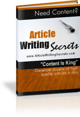 Product picture Article Writing Secrets MRR Package