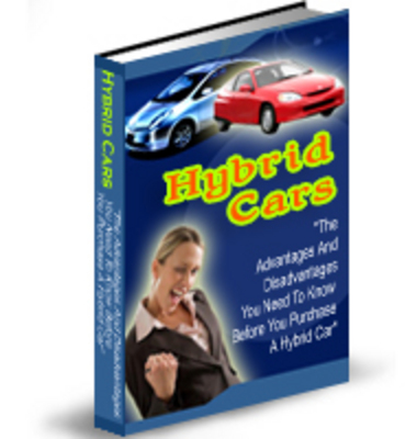 Product picture Hybrid Cars Why Bother PLR Package
