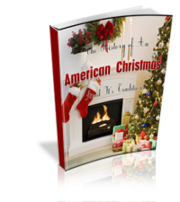 Product picture History Of American Christmas PLR Package