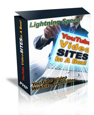 Product picture Youtube Video Site Generator - Youtube Site in a Box - MASTE